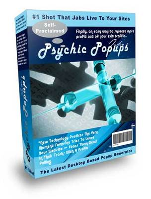 Product picture Psychic Popup software